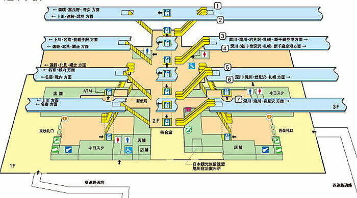 都道府県別目次 - 懐かしい駅の風景~線路配線図とともに